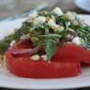 Thumbnail image for To Those Who Wait: Tomato Salad with Pesto