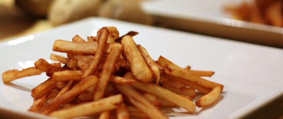 Post image for Resolutions Be Damned: Double-Fried French Fries