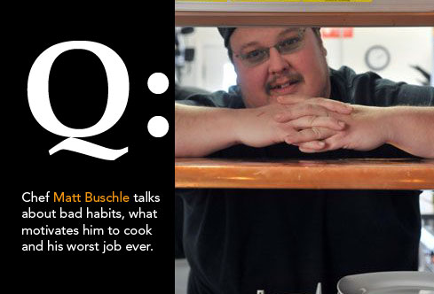 Post image for 5 Minutes with Chef Matt Buschle from Virgil's Cafe