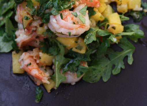 shrimp salad recipe with mango