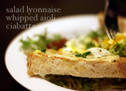 salad lyonnaise recipe
