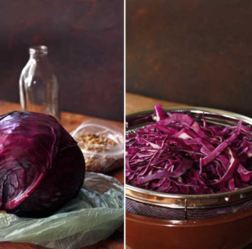 Post image for Red Cabbage with Citrus Sesame Dressing