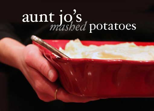 Post image for A Different Kind of Mashed Potatoes